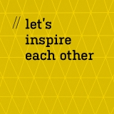Maek let's inspire each other